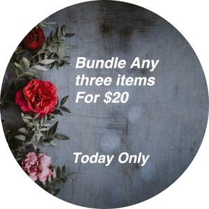 Today Only  3 for $20❤️❣️